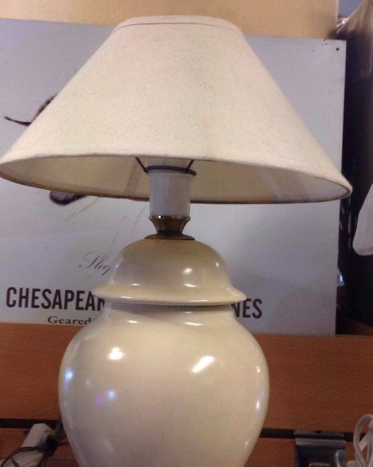 Lámpara en cerámica 38cm altura