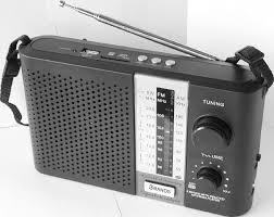 Radio Recargable Portatil
