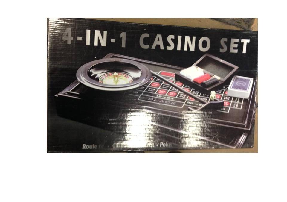 Juego de ruleta.set 4 en uno