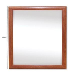 Espejo marco madera 56x46cm govinda for Espejo marco gris
