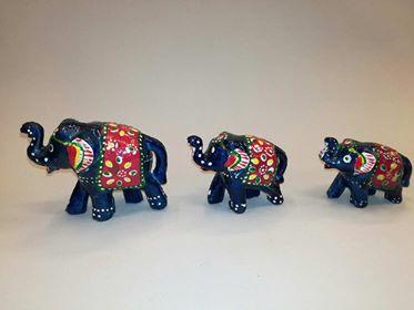 Elefantes x3